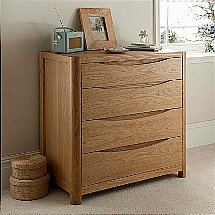 Vale Furnishers - Carlson Four Drawer Chest