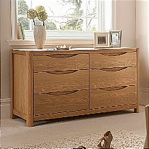Vale Furnishers - Carlson Six Drawer Chest