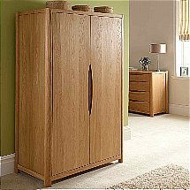 Vale Furnishers - Carlson Two Door Wardrobe