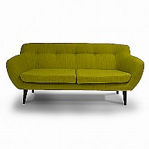 Vale Furnishers - Retro 2.5 Seater Sofa in Porto Apple