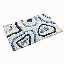 Vale Furnishers - Springfield Blue Bath Mat