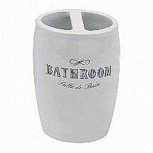 Vale Furnishers - Salle de Bain Toothbrush Holder
