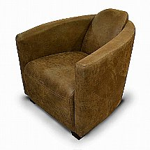 Vale Furnishers - Philly Tub Chair in Bonanza Lever