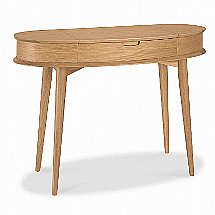 Vale Furnishers - Carnaby Oak Dressing Table