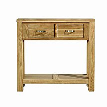 Vale Furnishers - Truro Small Console Table