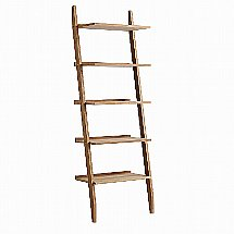Vale Furnishers - Vale Oak Ladder Shelving Unit
