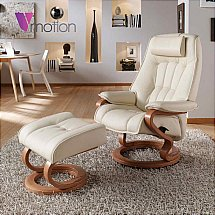 Vale Furnishers - V-Motion Darwin Recliner