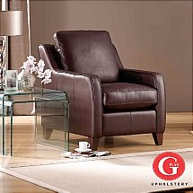 G Plan Upholstery - Boston Accent Chair in Leather