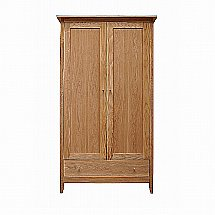 Vale Furnishers - Tonino Double Wardrobe