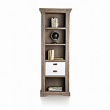 Vale Furnishers - Bronty Two-Drawer Bookcase