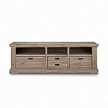 Vale Furnishers - Bronty Medium TV Unit