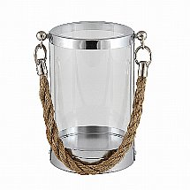 Vale Furnishers - Rope Hurricane Lantern