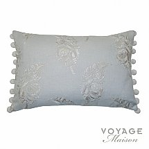 Voyage Maison - Botanical Wakehurst Cushion in Duck Egg
