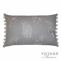 Voyage Maison - Botanical Wakehurst Cushion in Warm Grey