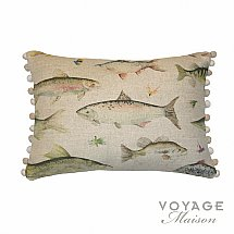 Voyage Maison - Country Swimming Salmon Cushion