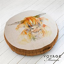 Voyage Maison - Country Highland Coo Floor Cushion