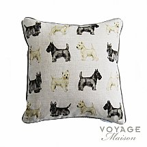 Voyage Maison - Country Scottie and Westie Cushion