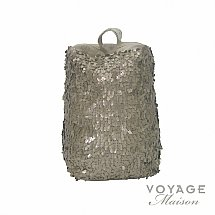 Voyage Maison - Couture Aquilla Pewter Sequin Doorstop