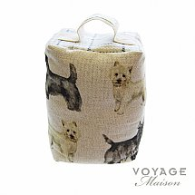 Voyage Maison - Country Scottie and Westie Door Stop