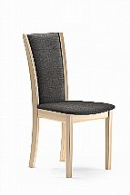 Skovby - SM64 Dining Chair In Lacquered Oak and Monic 4700
