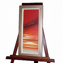De Montfort Fine Art - Johan Shaw Red sunset