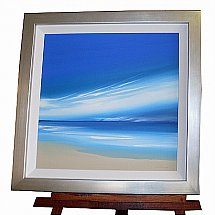 De Montfort Fine Art - John Shaw Blue sky and sands