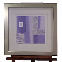 De Montfort Fine Art - Linda Charles Lilac and Silver 2