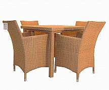 Vale Furnishers -  Garden Dining Set