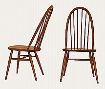 Ercol - Windsor Quaker Dining Chairs (Pair)