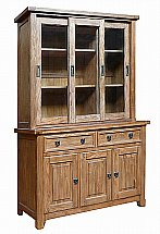 Corndell - Danesfield Triple Glazed Dresser Top and Sideboard Base