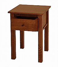 Vale Furnishers - Cirrus Chestnut Finish Lamp Table