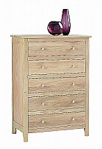 Vale Furnishers - Cirrus Five Drawer Bedroom Chest