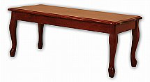 Vale Furnishers - Mahogany Coffee Table