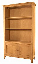 Vale Furnishers - Cirrus Medium Bookcase