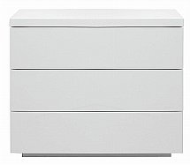 Vale Furnishers - London Three Drawer Wide Chest
