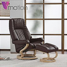 Vale Furnishers - V-Motion Munich Recliner
