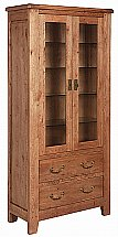 Vale Furnishers - Loseley Display Cabinet