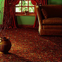 Axminster Carpets - Axminster Patterns Torbay Anatolian Dark Damask Carpet