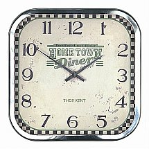 Art Marketing - Vale Furnishers Home Town Diner Wall Clock