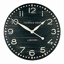 Art Marketing - Vale Furnishers Dark Vintage Loft Wall Clock