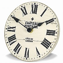 Art Marketing - Vale Furnishers Chateau Fontaine Mantel Clock