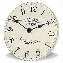 Art Marketing - Vale Furnishers Lavande de Provence Wall Clock