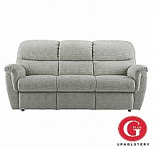 G Plan Upholstery - Elan 3 Seat Double Power Recliner
