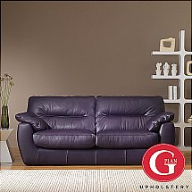 G Plan Upholstery - Ethos Dakota Leather Sofa