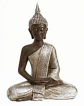 Vale Furnishers -  Lotus Buddha Statue