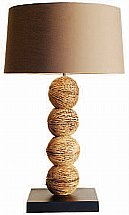 Vale Furnishers -  Four Husk Thai Table Lamp