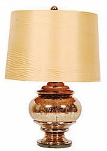 Vale Furnishers -  Billings Urn Lamp with Champagne Shade