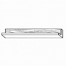 Beaver and Tapley - Tapley 33 Cherry SR33 Shelf