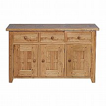 Vale Furnishers - Lancaster 3 Door Sideboard