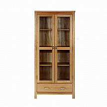 Vale Furnishers - Truro Glazed Cabinet